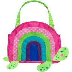 Stephen Joseph Girls Rainbow Turtle Beach Tote