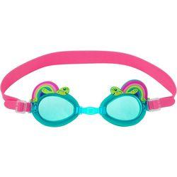 Stephen Joseph Girls Rainbow Turtle Goggles