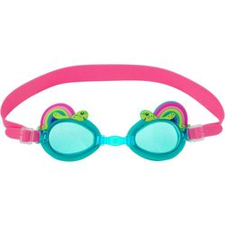 Stephen Joseph Girls Rainbow Turtle Goggles