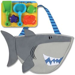 Stephen Joseph Boys Shark Beach Tote & Sand Tools