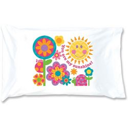 Stephen Joseph Girls You Are My Sunshine Pillowcase