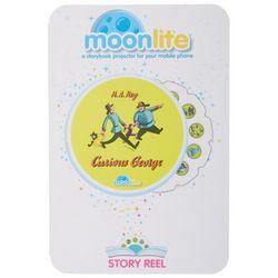 MoonLite Curious George Storybook Phone Projector Story Reel