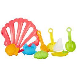 Toysmith 8-pc. Sand & Sea Playset!