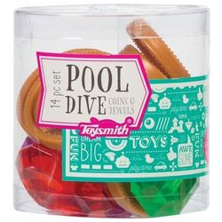 Toysmith 14-pc. Coins & Jewels Pool Dive Set