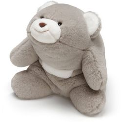 Gund Grey Snuffles Bear Stuffed Animal