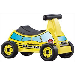 American Plastic Toys School Bus Ride On