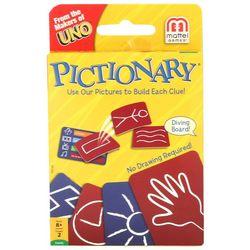 Hasbro Pictionary Uno Card Game