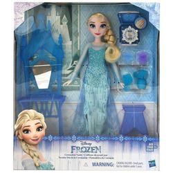 Disney Frozen Coronation Vanity Elsa Doll Set