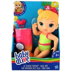 Hasbro Baby Alive Lil Splashes Mermaid Baby Doll