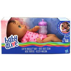 Hasbro Baby Alive Luv 'N Snuggle Baby Doll