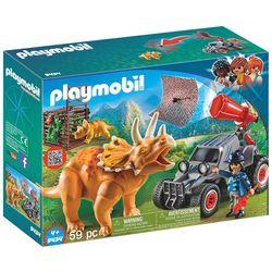 Playmobil 59-pc. Triceratops Enemy Quad Play Set