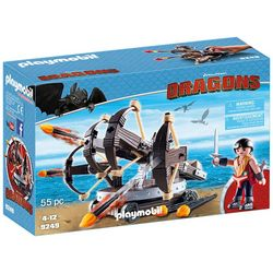 Playmobil 55-pc. How To Train Your Dragon Eret Play Set