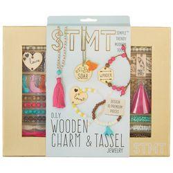STMT DIY Wooden Charm & Tassel Jewelry Kit