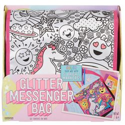 It's So Me 26-pc. Glitter Messenger Bag Coloring