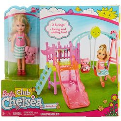 Barbie Club Chelsea Barbie Swing Set