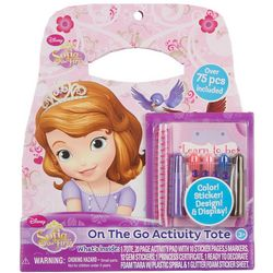 Disney Sofia the First On The Go Activity Tote Set