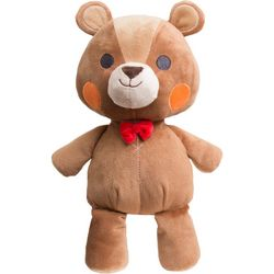 FAO Schwarz Bow Tie Bear Plush Toy