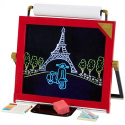FAO Schwarz 3-In-1 Tabletop LED Art Easel