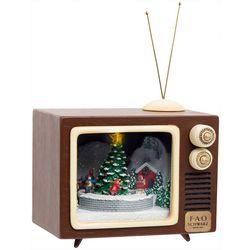 FAO Schwarz Lighted Holiday Musical TV Figurine