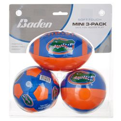 Florida Gators 3-pk. Mini Football Basketball Soccer Set