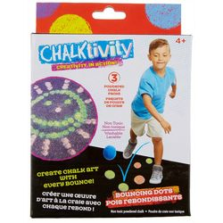 Chalktivity 3-pk. Powdered Bouncing Dots Chalk Set