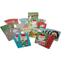 Gibby & Libby Santa's Helpers Matching Card Game Set