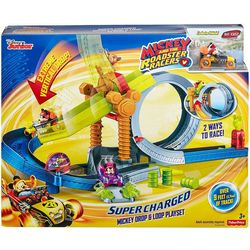 Disney Junior Mickey And The Roadster Super Charged Playset