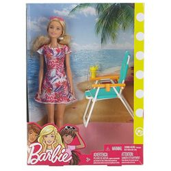 Barbie Beachside Lounging Doll