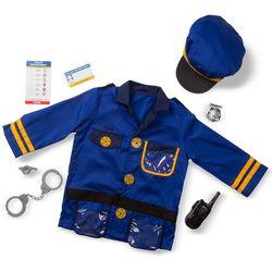 Melissa & Doug Police Officer Costume Set