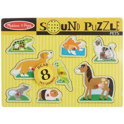 Melissa & Doug 8-pc. Pets Sound Puzzle
