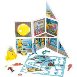 Melissa & Doug Wood Underwater Adventure Magnet Play Set