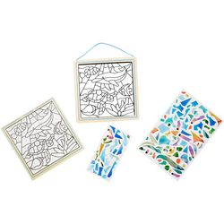 Melissa & Doug Stained Glass Made Easy Ocean Sticker Kit
