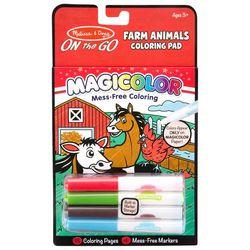 Melissa & Doug Farm Animals Magicolor Coloring Pad Set
