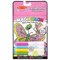 Melissa & Doug Friends & Fun Magicolor Coloring Pad Set