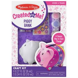 Melissa & Doug Created by Me Piggy Bank Craft Activity Kit