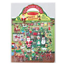 Melissa & Doug Santa's Workshop Puffy Sticker Play Set