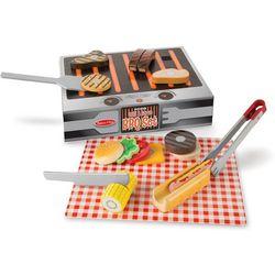 Melissa & Doug 20-pc. Wooden Grill & Serve BBQ Set