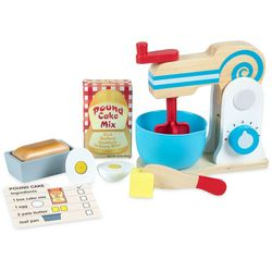 Melissa & Doug 11-pc. Wooden Make-a-Cake Mixer Set