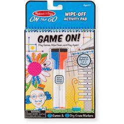 Melissa & Doug Game On! Wipe-Off Activity Pad