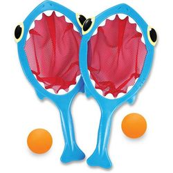 Melissa & Doug Spark Shark Toss & Catch Pool Toy