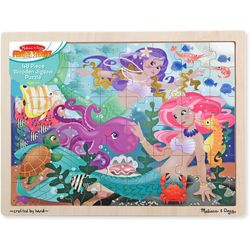Melissa & Doug 48-pc. Mermaid Fantasea Wooden Jigsaw