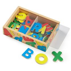 Melissa & Doug 52-pc. Wooden Alphabet Magnets