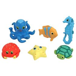Melissa & Doug 6-pc. Seaside Sidekicks Creature Set