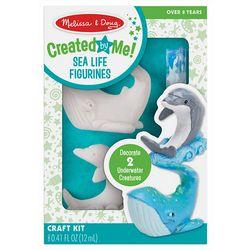 Melissa & Doug Created by Me! Sea Life Figurines Craft Kit
