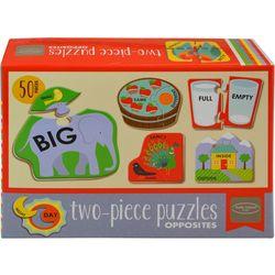 Kathy Ireland 50-pc. Two-Piece Opposites Puzzles
