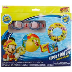 Mickey Mouse & The Roadster Racers 5-pc. Super Swim Set