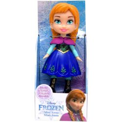 Frozen Blue Mini Anna Doll