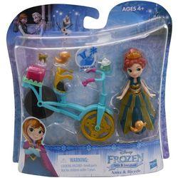 Disney Frozen Anna & Bicycle Little Kingdom Set