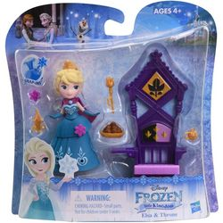 Disney Frozen II Elsa & Throne Little Kingdom Set