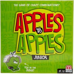 Mattel Apples To Apples Junior Board Game